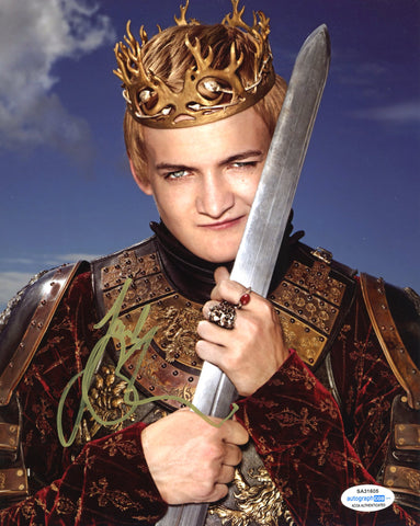 Jack Gleeson Game of Thrones Signed Autograph 8x10 Photo #13 - Outlaw Hobbies Authentic Autographs