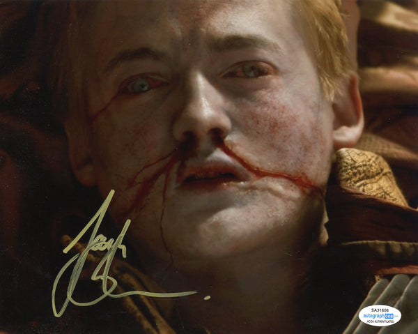 Jack Gleeson Game of Thrones Signed Autograph 8x10 Photo #14 - Outlaw Hobbies Authentic Autographs