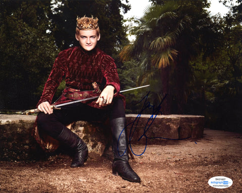 Jack Gleeson Game of Thrones Signed Autograph 8x10 Photo #15 - Outlaw Hobbies Authentic Autographs