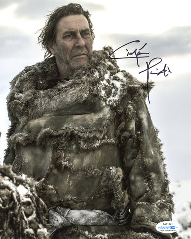 Ciaran Hinds Game of Thrones  Signed Autograph 8x10 Photo ACOA #4 - Outlaw Hobbies Authentic Autographs