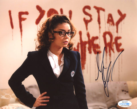 Sarah Hyland Vampire Academy Signed Autograph 8x10 Photo ACOA - Outlaw Hobbies Authentic Autographs