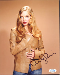 Amanda Seyfried Sexy Signed Autograph 8x10 Photo ACOA #4