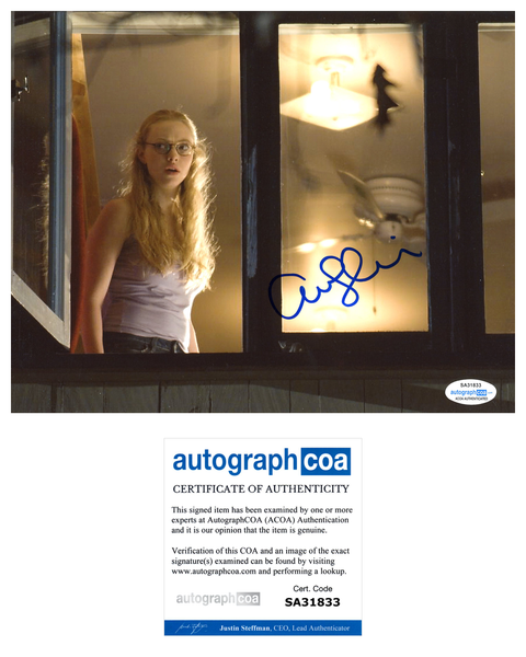 Amanda Seyfried Jennifer's Body Signed Autograph 8x10 Photo ACOA #9 - Outlaw Hobbies Authentic Autographs