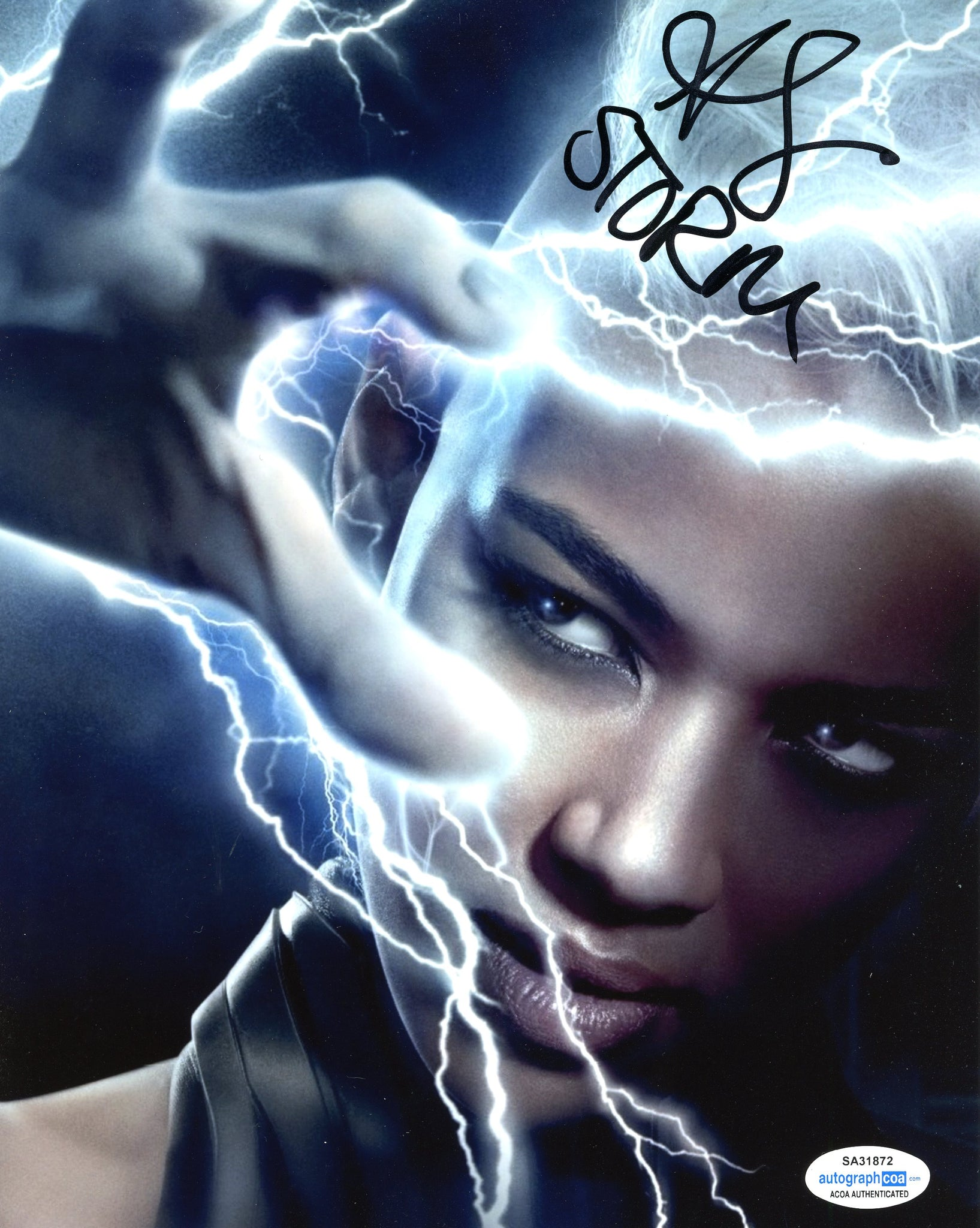Alexandra Shipp X-Men The Storm Signed Autograph 8x10 Photo ACoA #5