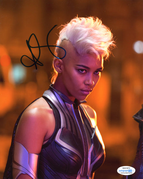 Alexandra Shipp X-Men The Storm Signed Autograph 8x10 Photo ACoA #6