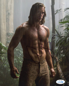 Alexander Alex Skarsgard Tarzan Signed Autograph 8x10 Photo ACOA #8 - Outlaw Hobbies Authentic Autographs
