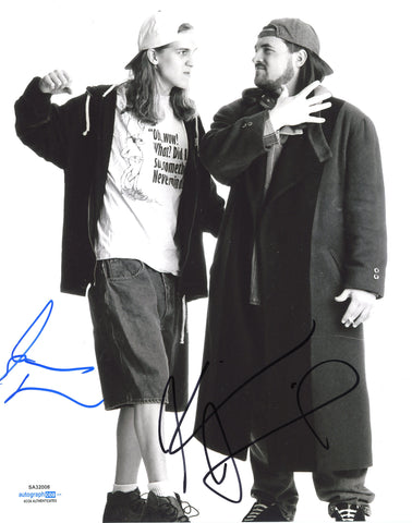 Kevin Smith & Jason Mewes Jay and Silent Bob Signed Autograph 8x10 Photo ACOA #2 - Outlaw Hobbies Authentic Autographs