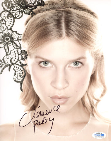 Clemence Poesy Harry Potter Signed Autograph 8x10 Photo ACOA - Outlaw Hobbies Authentic Autographs