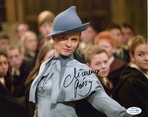 Clemence Poesy Harry Potter Signed Autograph 8x10 Photo ACOA #2 - Outlaw Hobbies Authentic Autographs