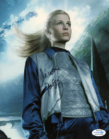 Clemence Poesy Harry Potter Signed Autograph 8x10 Photo ACOA #3 - Outlaw Hobbies Authentic Autographs