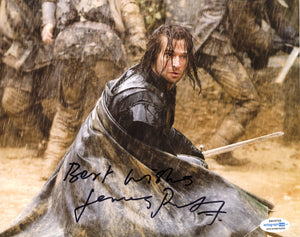 James Purefoy Solomon Kane Signed autograph 8x10 Photo ACOA