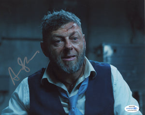 Andy Serkis Black Panther Signed Autograph 8x10 Photo ACOA #17 - Outlaw Hobbies Authentic Autographs