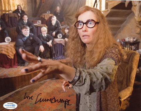 Emma Thompson Harry Potter Signed Autograph 8x10 Photo ACOA #7 - Outlaw Hobbies Authentic Autographs