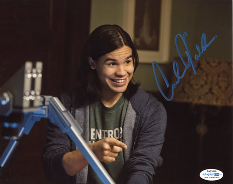 Carlos Valdes Flash Signed Autograph 8x10 Photo ACOA Arrow #2 Vibe - Outlaw Hobbies Authentic Autographs