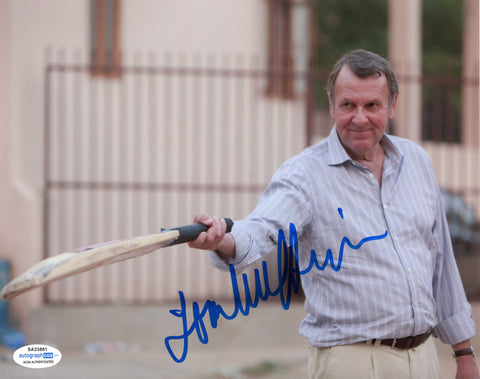 Tom Wilkinson Best Exotic Marigold Signed Autograph 8x10 Photo ACOA #5 - Outlaw Hobbies Authentic Autographs