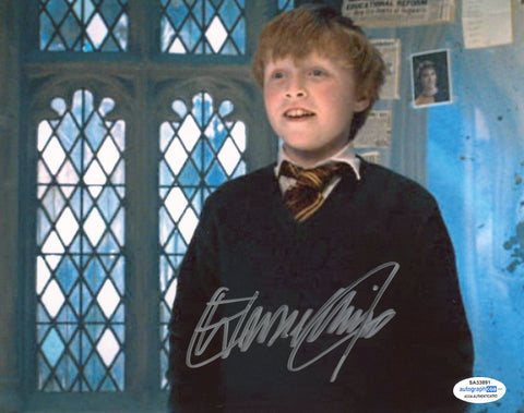 Hugh Mitchell Harry Potter Signed Autograph 8x10 Photo ACOA - Outlaw Hobbies Authentic Autographs