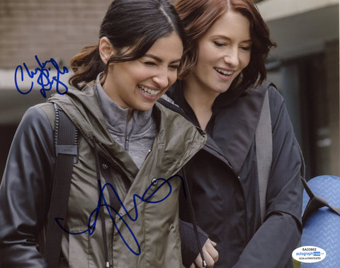 Chyler Leigh Floriana Lima Supergirl Autograph Signed 8x10 Photo ACOA - Outlaw Hobbies Authentic Autographs