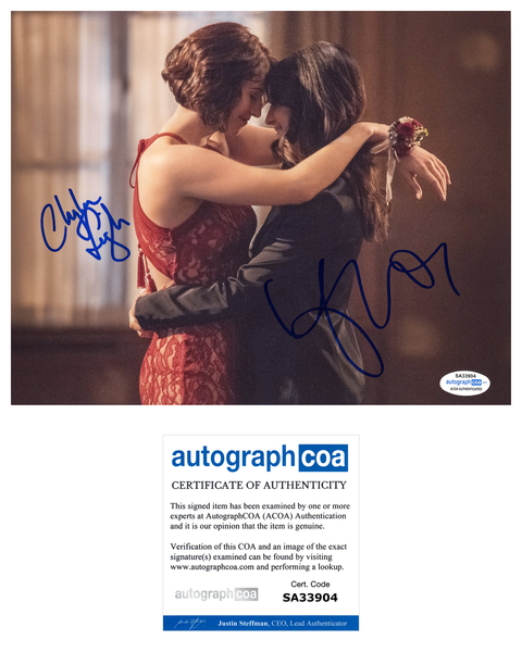 Chyler Leigh Floriana Lima Supergirl Autograph Signed 8x10 Photo ACOA #3 - Outlaw Hobbies Authentic Autographs