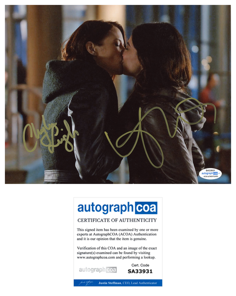 Chyler Leigh Floriana Lima Supergirl Autograph Signed 8x10 Photo ACOA #4 - Outlaw Hobbies Authentic Autographs