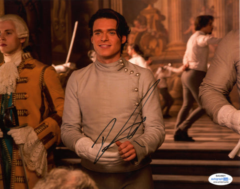 Richard Madden Cinderella Signed Autograph 8x10 Photo ACOA - Outlaw Hobbies Authentic Autographs