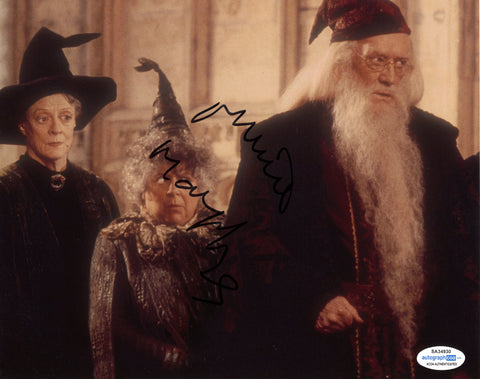 Miriam Margolyes Harry Potter Signed Autograph 8x10 Photo ACOA Sprout #3 - Outlaw Hobbies Authentic Autographs