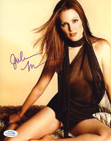 Julianne Moore Sexy Signed Autograph 8x10 Photo ACOA #22 - Outlaw Hobbies Authentic Autographs
