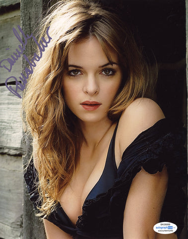 Danielle Panabaker Flash Signed Autograph 8x10 Photo ACOA #5 - Outlaw Hobbies Authentic Autographs