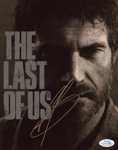 Troy Baker The Last of Us Joel Signed Autograph 8x10 Photo ACOA #8 - Outlaw Hobbies Authentic Autographs