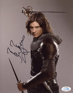 Ben Barnes Narnia Prince Caspian Signed Autograph 8x10 Photo ACOA #4 - Outlaw Hobbies Authentic Autographs