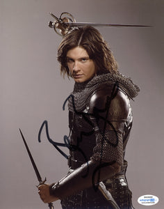Ben Barnes Narnia Prince Caspian Signed Autograph 8x10 Photo ACOA #5 - Outlaw Hobbies Authentic Autographs