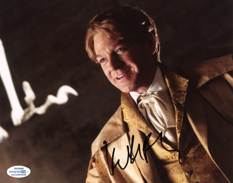 Kenneth Branagh Harry Potter Signed Autograph 8x10 Photo ACOA Lockhart #10 - Outlaw Hobbies Authentic Autographs
