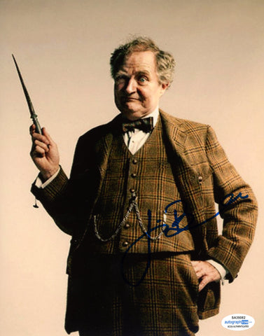 Jim Broadbent Harry Potter Signed Autograph 8x10 Photo ACOA Slughorn - Outlaw Hobbies Authentic Autographs
