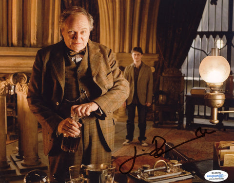 Jim Broadbent Harry Potter Signed Autograph 8x10 Photo ACOA Slughorn #2 - Outlaw Hobbies Authentic Autographs