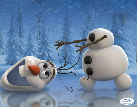 Josh Gad Olaf Frozen Signed Autograph 8x10 Photo ACOA - Outlaw Hobbies Authentic Autographs