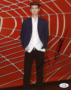 Andrew Garfield Spiderman Signed Autograph 8x10 Photo ACOA #2 - Outlaw Hobbies Authentic Autographs
