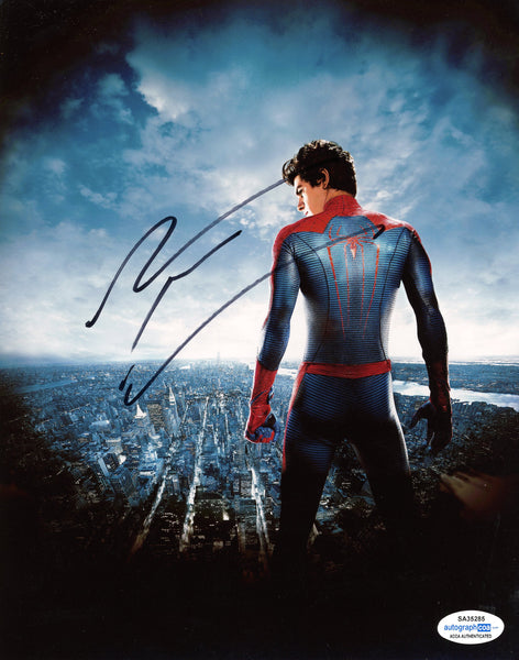 Andrew Garfield Spiderman Signed Autograph 8x10 Photo ACOA #4 - Outlaw Hobbies Authentic Autographs