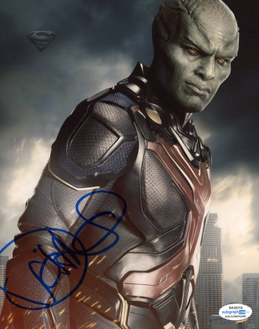 David Harewood Supergirl Signed Autograph 8x10 Photo ACOA - Outlaw Hobbies Authentic Autographs