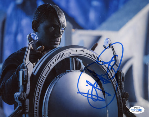 David Harewood Supergirl Signed Autograph 8x10 Photo ACOA #2 - Outlaw Hobbies Authentic Autographs