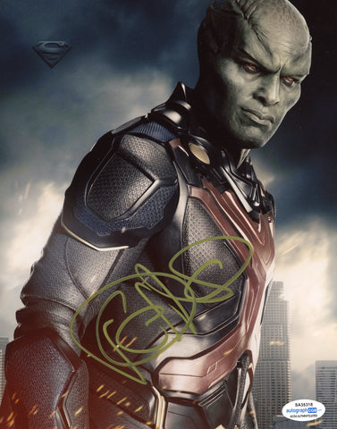 David Harewood Supergirl Signed Autograph 8x10 Photo ACOA #3 - Outlaw Hobbies Authentic Autographs