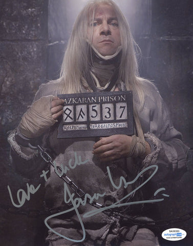 Jason Isaacs Harry Potter Signed Autograph 8x10 Photo ACOA Malfoy - Outlaw Hobbies Authentic Autographs
