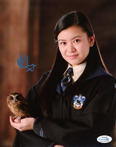 Katie Leung Harry Potter Cho Chang Signed Autograph 8x10 Photo ACOA - Outlaw Hobbies Authentic Autographs