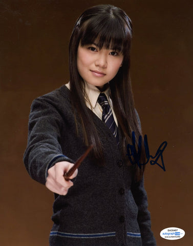 Katie Leung Harry Potter Cho Chang Signed Autograph 8x10 Photo ACOA #2 - Outlaw Hobbies Authentic Autographs