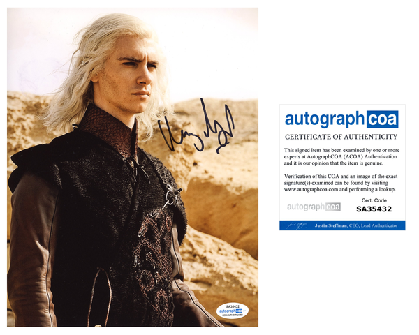Harry Lloyd Game of Thrones Signed Autograph 8x10 Photo ACOA #2 - Outlaw Hobbies Authentic Autographs