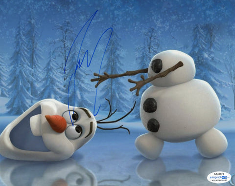 Josh Gad Olaf Frozen Signed Autograph 8x10 Photo ACOA #5