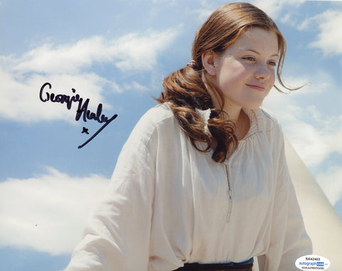 Georgie Henley Chronicles of Narnia Signed Autograph 8x10 Photo ACOA #2