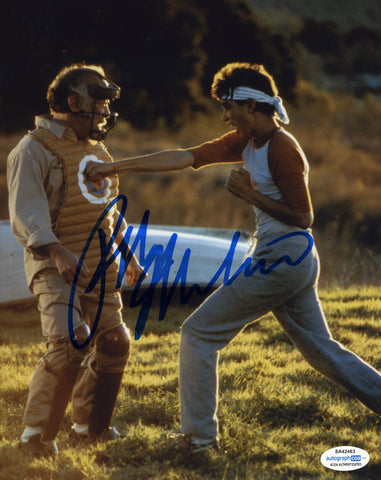 Ralph Macchio Cobra Kai Signed Autograph 8x10 Photo ACOA #13 Karate Kid - Outlaw Hobbies Authentic Autographs