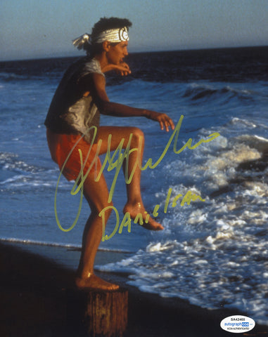 Ralph Macchio Cobra Kai Signed Autograph 8x10 Photo ACOA #15 Karate Kid - Outlaw Hobbies Authentic Autographs