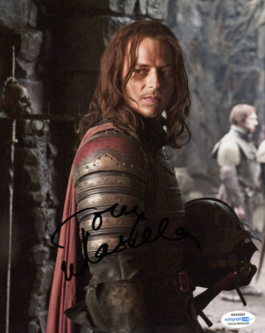 Tom Wlaschiha Game of Thrones Signed Autograph 8x10 Photo ACOA