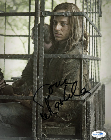Tom Wlaschiha Game of Thrones Signed Autograph 8x10 Photo ACOA #2