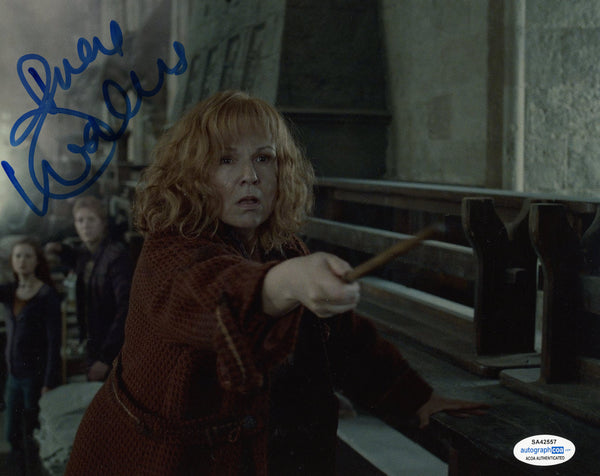 Julie Walters Harry Potter Signed Autograph 8x10 Photo ACOA